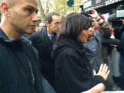 La mairesse de Parisest restée samedi 5 minutes... (PHOTO VÉRONIQUE BEAUDET, COLLABORATION SPÉCIALE) - image 1.0