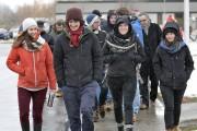 Les étudiants français de l'Université du Québec à... (Photo Le Progrès-Dimanche, Rocket Lavoie) - image 1.0