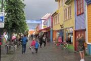Les couleurs pastel de la rue Øvre Holmegate... (PHOTO LAURA-JULIE PERREAULT, LA PRESSE) - image 6.0