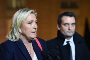 Marine Le Pen et Florian Philippot.... (PHOTO AFP) - image 2.0
