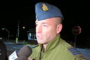 Le colonel Darcy Molstad a précisé qu'aucun explosif... (Photo Le Quotidien, Denis Villeneuve) - image 1.0