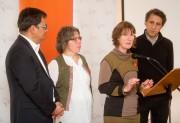 Andrés Fontecilla, président et coporte-parole de QS, Hélène... (Imacom, Jessica Garneau) - image 2.0