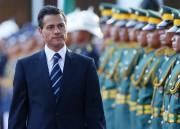 Le president mexicain,Enrique Pena Nieto... (Photo Bullit Marquez, AP) - image 1.0