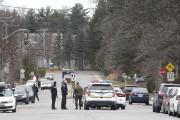 Le SPVG a fermé la rue Saint-François, près... (Patrick Woodbury, LeDroit) - image 3.0
