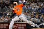 Dallas Keuchel, des Astros de Houston, a reçu... (AP, Kathy Willens) - image 2.0