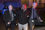 Gregory Woolley a été arrêté ce matin.... (PHOTO PATRICK SANFAÇON, LA PRESSE) - image 2.0