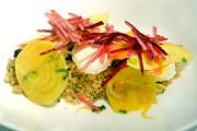 Biquerond glacé au miel, quinoa et racines croquantes... (Le Soleil, Jean-Marie Villeneuve) - image 2.0