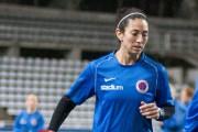 Marie-Ève Nault avant le match de mardi.... (KIF Örebro) - image 3.0