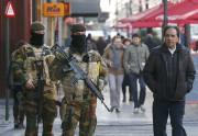Bruxelles reste mardi en état d'alerte maximale... (PHOTO YVES HERMAN, REUTERS) - image 5.0