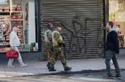Bruxelles reste mardi en état d'alerte maximale... (PHOTO EMMANUEL DUNAND, AFP) - image 5.1