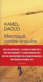 Meursault contre-enquête de Kamel Daoud... (Image fournie par les éditions Actes Sud) - image 1.0