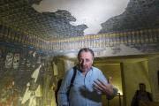 M.Eldamaty et l'égyptologue britannique Nicholas Reeves (ci-dessus) avaient... (PHOTO  KHALED DESOUKI, ARCHIVES AFP) - image 1.0