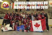 Les membres de la formation canadienne célébrant leur... (fournie) - image 1.0