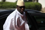 Le président gambien Yahya Jammeh... (PHOTO ARCHIVES AP) - image 1.0