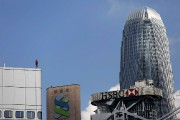 Perchées ici et là au sommet des gratte-ciel, à quelques... (AFP, Issac Lawrence) - image 2.0