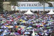 La taille de la foule était quelque peu... (AFP, Georgina Goodwin) - image 1.0