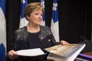 La vérificatrice générale, Guylaine Leclerc... (La Presse Canadienne, Jacques Boissinot) - image 2.0