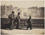 Ramoneurs en marche, de Charles Nègre. La photographie... (Courtoisie) - image 2.0