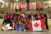 Le Canada a dominé outrageusement le premier Championnat... (Photo courtoisie) - image 2.0
