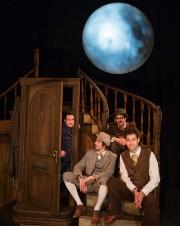 Les acteurs jonglent avec des aspects dramatiques et... (PHOTO IVANOH DEMERS, LA PRESSE) - image 1.0