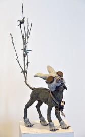 La sculpture Un savant fou... (Le Soleil, Patrice Laroche) - image 2.0