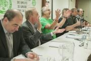 Les quelque 300 membres du Syndicat démocratique des... (Photo Le Progrès-Dimanche, Michel Tremblay) - image 1.0