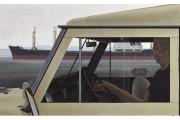 Harbour, 1975, d'Alexander Colville, acrylique et émulsion polymère... (PHOTO FOURNIE PAR LA MAISON HEFFEL) - image 2.0