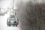 La météo n'a pas gâté les stations de... (PHOTO BERNARD BRAULT, ARCHIVES LA PRESSE) - image 1.0