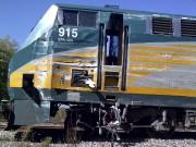 Nouvelles images du train accidenté... (Courtoisie, BST) - image 4.0