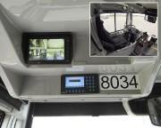 Les écrans de bord installés dans les autobus... (Courtoisie) - image 4.1