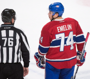 Alexei Emelin a été expulsé de la rencontre... (Photo Graham Hughes, PC) - image 3.0