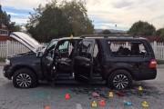Le véhicule utilisé par le couple meurtrier lors... (PHOTO AP) - image 2.1