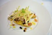 Salade tiède de coquillages, tombée de poireaux et... (Le Soleil, Andréanne Lemire) - image 3.0