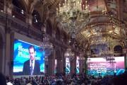 L'acteur américain Leonardo DiCaprio a prononcé un discours... (Phtoo Catherine Gaschka, AP) - image 2.0