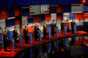 Les candidats républicains John Kasich, Jeb Bush, Marco Rubio,... (Associated Press) - image 9.0