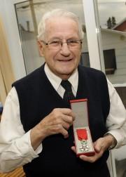 Le vétéran de la Seconde Guerre mondiale, Jean-Paul... (Photo Le Quotidien, Mariane L. St-Gelais) - image 2.0