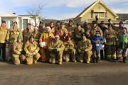 Les pompiers du Service sécurité incendie de la... (Audrey Tremblay) - image 1.0