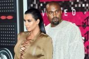 Kim Kardashian et Kanye West sur le tapis... (AFP, Mark Ralston) - image 6.0