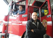 Simon Gilbert,président du syndicat des pompiers de Sherbrooke,... (Archives, La Tribune) - image 1.0