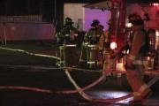 Les pompiers de Granby ont été assistés par... (Catherine Trudeau, La Voix de l'Est) - image 1.0