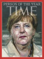 Angela Merkel est la personnalité de l'année selon... (IMAGE TIME MAGAZINE/AP) - image 1.0