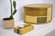 Urne funéraire avec marquetterie... (Le Soleil, Yan Doublet) - image 3.0