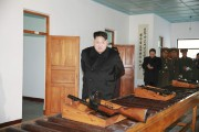 Kim Jong-un inspecte le site militaire de Phyongchon,... (PHOTO KCNA) - image 1.0