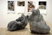 Les sculptures de Nélanne Racine font écho à... (Photo Le Progrès-Dimanche, Jeannot Lévesque) - image 1.0