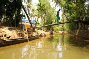 Pour explorer les petits canaux, les embarcations pour... (PHOTO MARIE-SOLEIL DESAUTELS, LA PRESSE) - image 1.1