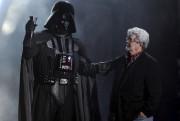 George Lucas avec son mythique personnage de Darth... (Photothèque Le Soleil) - image 5.0