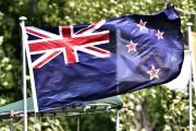 Le drapeau néo-zélandais actuel où figure l'Union Jack.... (PHOTO MARTY MELVILLE, AFP) - image 1.0