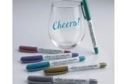 Ces crayons permettent d'écrire sur les verres à... (PHOTO FOURNIE PAR WINE GLASS WRITER) - image 3.0