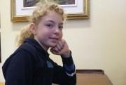 Harmonie Girard, neuf ans, a bien hâte de... (Photo Le Progrès-Dimanche, Mélissa Viau) - image 2.0