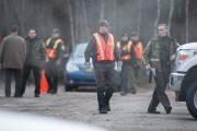D'une cinquantaine de policiers dimanche, la Sûreté du... (Olivier Croteau) - image 3.0